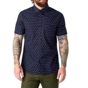 7 diamonds pima cotton shirt sz XL
